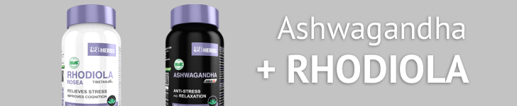 rhodiola and ashwagandha